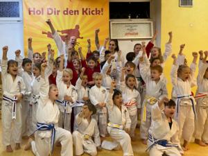Karate Kinder Gruppe